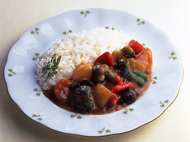 カレー 夏 野菜
