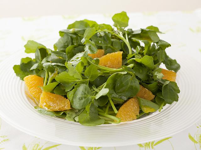 クレソン の サラダ