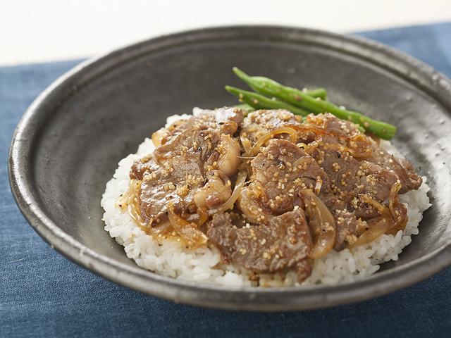 ラム肉 丼 レシピ