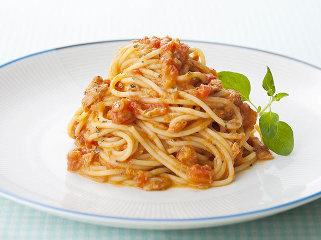 トマト スパゲティ