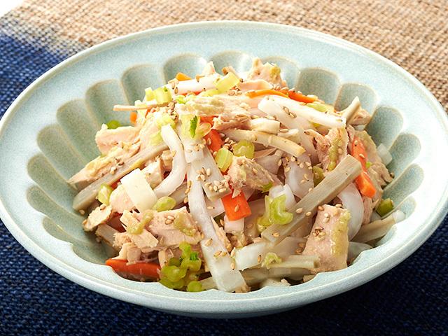 サラダ ダイコン 【保存版】大根の人気レシピ25選|一位は!?煮物からサラダ、大根だけ、豚肉、大量消費も!どれも簡単!