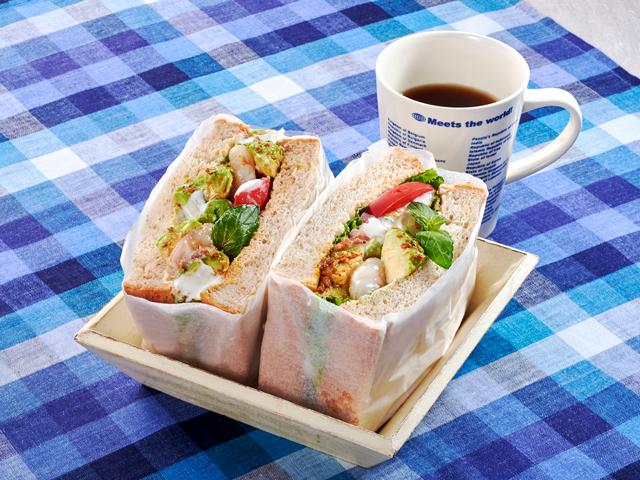 ボリューム サンドイッチ