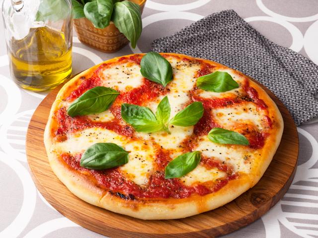 ピザ生地の画像
