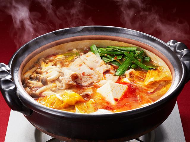 醤 スープ 豆板